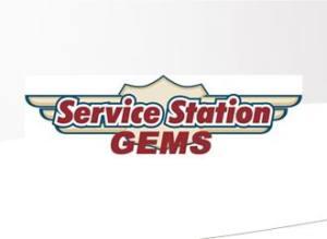 service station logo